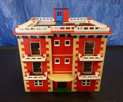 LEGO Super City apartment building