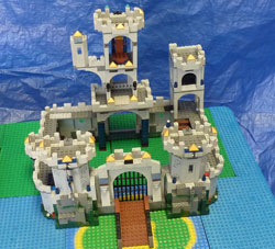 LEGO Super City castle