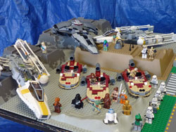 LEGO super city star wars
